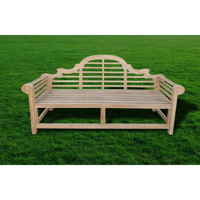 Gemma Teak Garden Bench Pertaining To Trendy Wallie Teak Garden Benches (View 19 of 20)