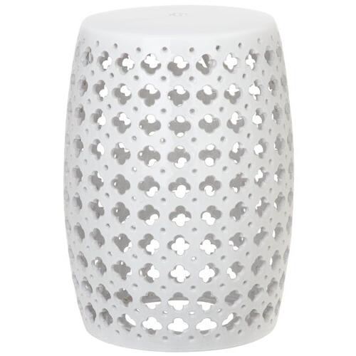 Gisella Garden Stool Pertaining To Fashionable Renee Porcelain Garden Stools (View 4 of 20)