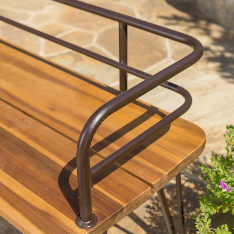 Guyapi Garden Bench With Regard To Preferred Guyapi Garden Benches (View 8 of 20)