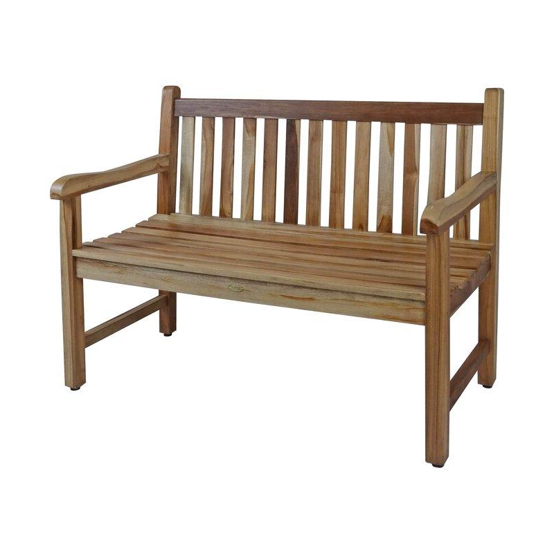 Hampstead Heath Teak Garden Bench For Most Recently Released Hampstead Teak Garden Benches (View 3 of 20)