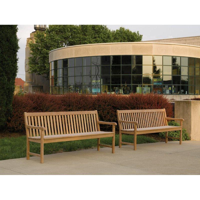 Harpersfield Wooden Garden Bench Throughout Latest Harpersfield Wooden Garden Benches (View 3 of 20)