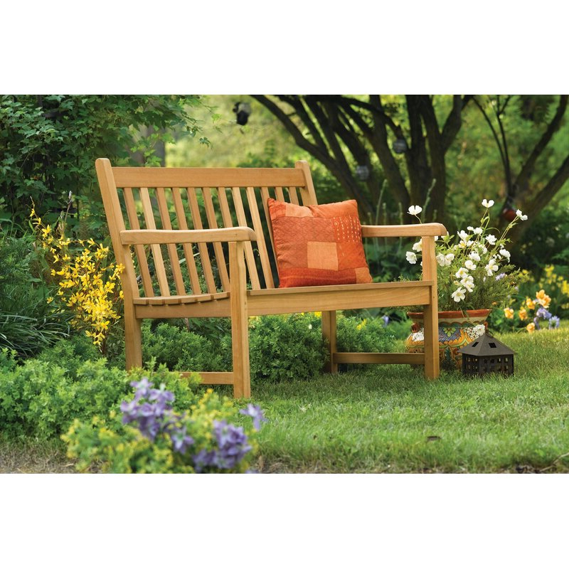 Harpersfield Wooden Garden Benches Inside Fashionable Harpersfield Wooden Garden Bench (View 4 of 20)