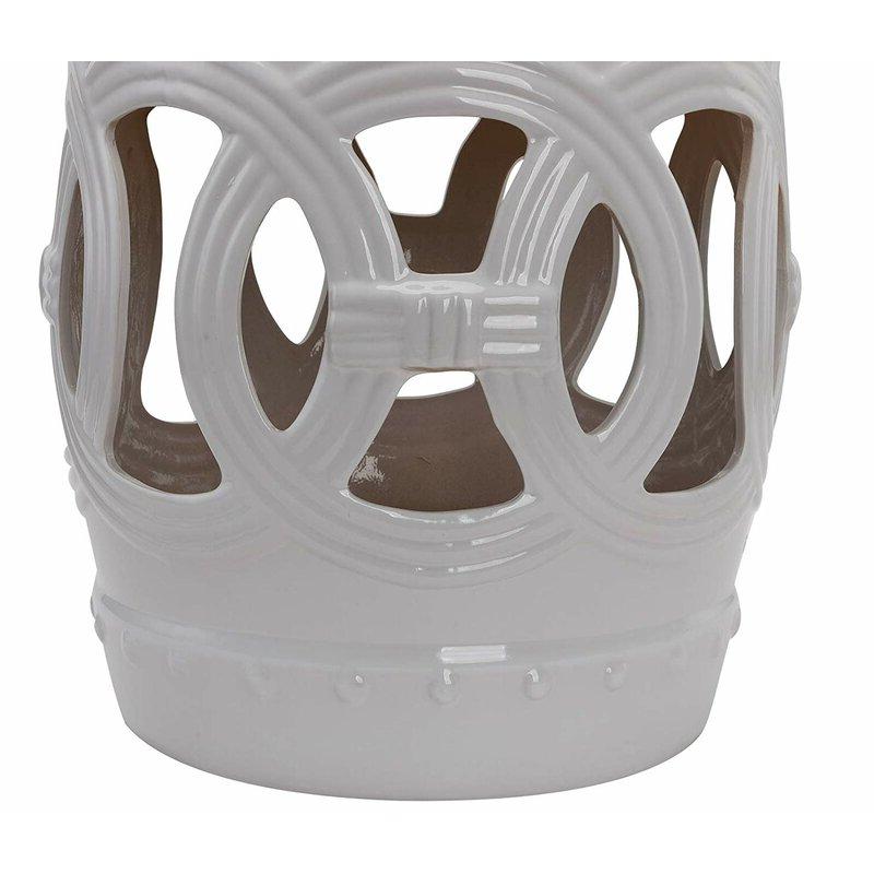 Harwich Ceramic Garden Stool In Preferred Harwich Ceramic Garden Stools (View 8 of 20)