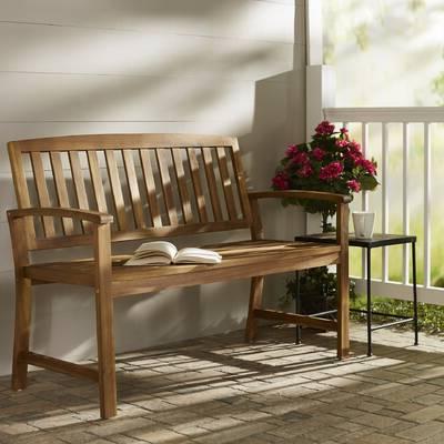Hornellsville Wrought Iron Garden Bench & Reviews (View 16 of 20)