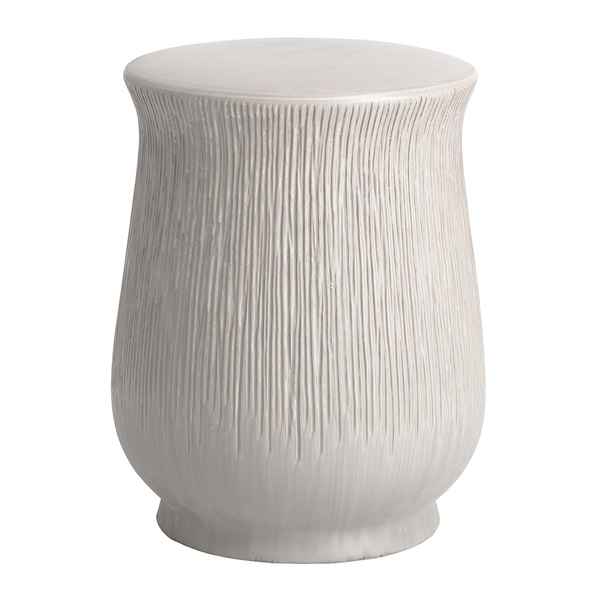 Horsforth Garden Stools Throughout Most Up To Date Chalice Ceramic Stool Table 14 Dia X 18 H Inches Ceramic (View 11 of 20)