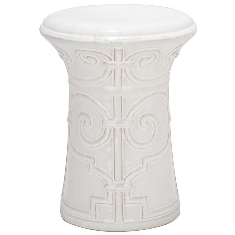 Imperial Ceramic Garden Stool With Regard To Fashionable Karlov Ceramic Garden Stools (View 12 of 20)