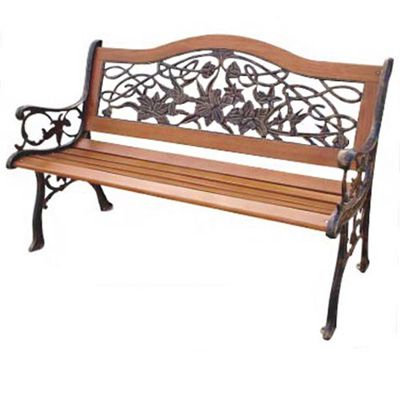 Iron Bench For Latest Pettit Steel Garden Benches (View 7 of 20)