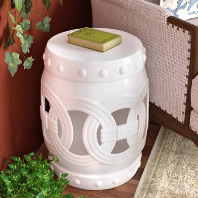 Irwin Blossom Garden Stools Intended For Famous Murphy Ceramic Garden Stool & Reviews (View 14 of 20)