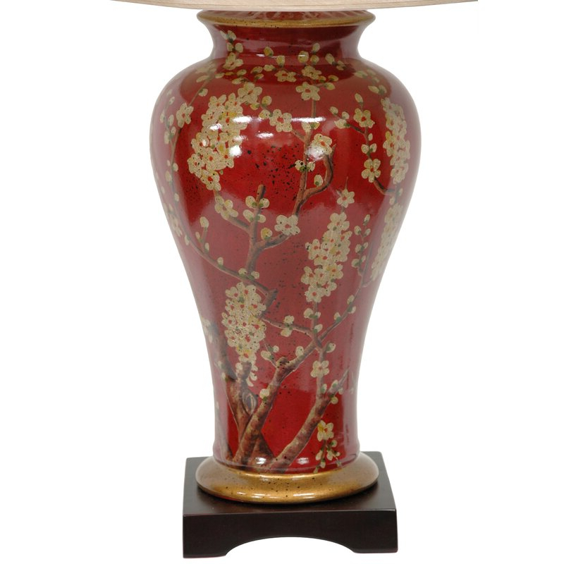 "Irwin Blossom Vase 30"" Table Lamp With Regard To Widely Used Irwin Blossom Garden Stools (View 4 of 20)"