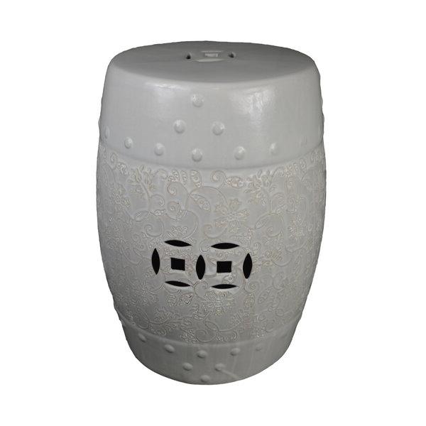 Iyanna Ceramic Garden Stool Intended For Popular Bonville Ceramic Garden Stools (View 9 of 20)