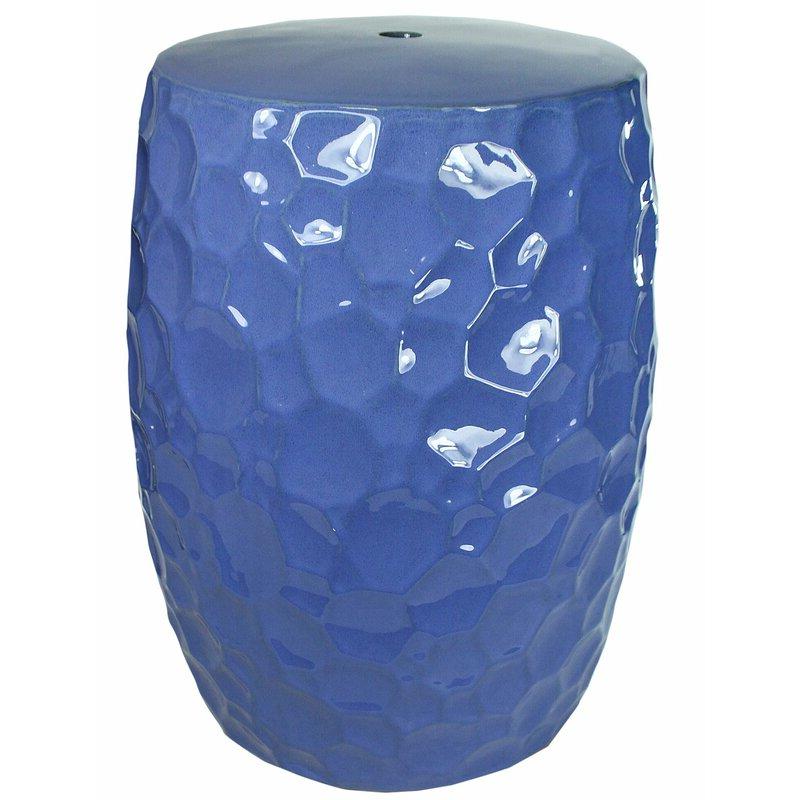 Jatoi Decorative Ceramic Garden Stool Inside Well Known Wurster Ceramic Drip Garden Stools (View 9 of 20)