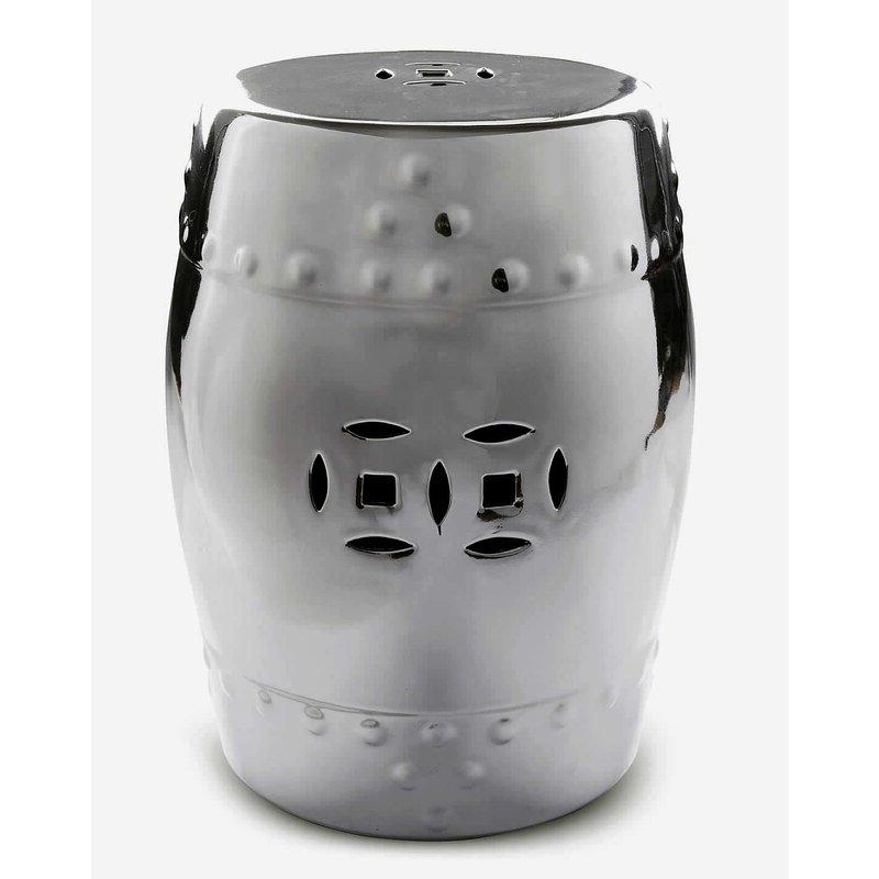 Kelston Ceramic Garden Stool For Fashionable Kelston Ceramic Garden Stools (View 3 of 20)