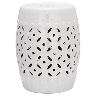 Keramik Hocker, Einrichtungsstil For Most Up To Date Janke Floral Garden Stools (View 4 of 20)