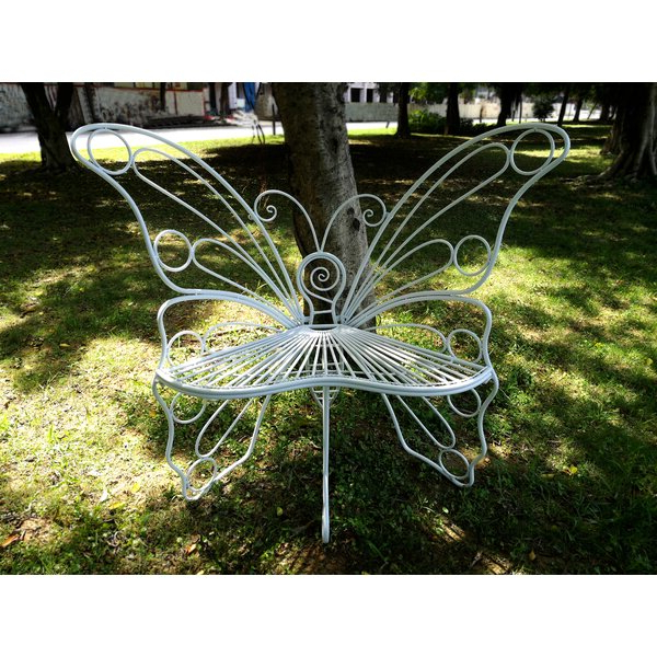 Krystal Ergonomic Metal Garden Benches For Latest Metal Garden Chairs (View 13 of 20)