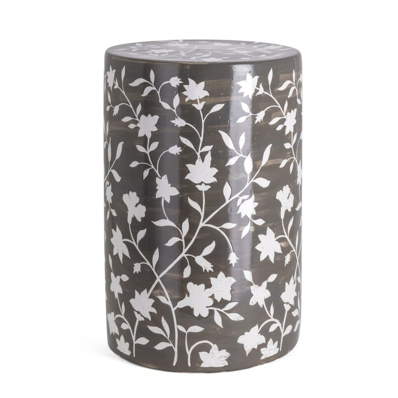 Kuhnhenn Handpainted Garden Stool With Regard To Most Popular Murphy Ceramic Garden Stools (View 14 of 20)