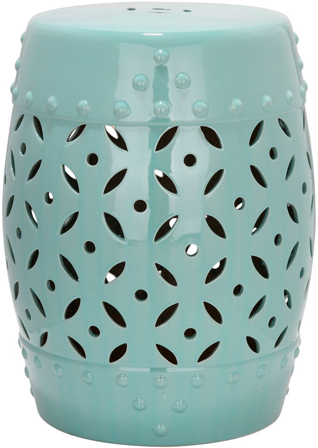 Kujawa Ceramic Garden Stools Inside Most Recently Released Lattice Coin Ceramic Garden Stool (View 20 of 20)