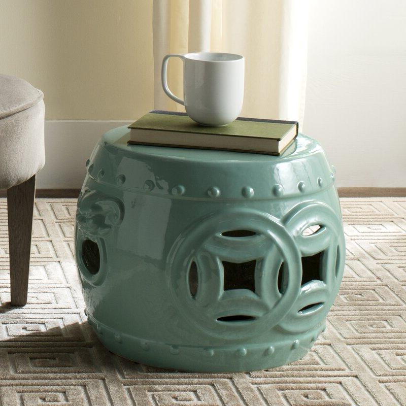 Kujawa Ceramic Garden Stools Regarding Most Current Kujawa Ceramic Garden Stool (View 4 of 20)