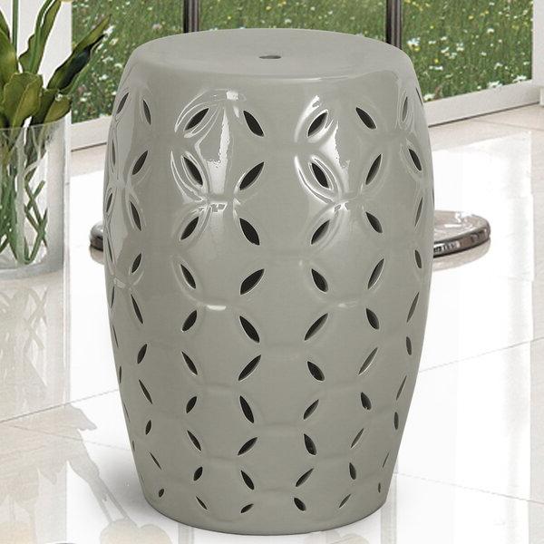 Lattice Ceramic Garden Stool Regarding Well Liked Wurster Ceramic Drip Garden Stools (View 12 of 20)