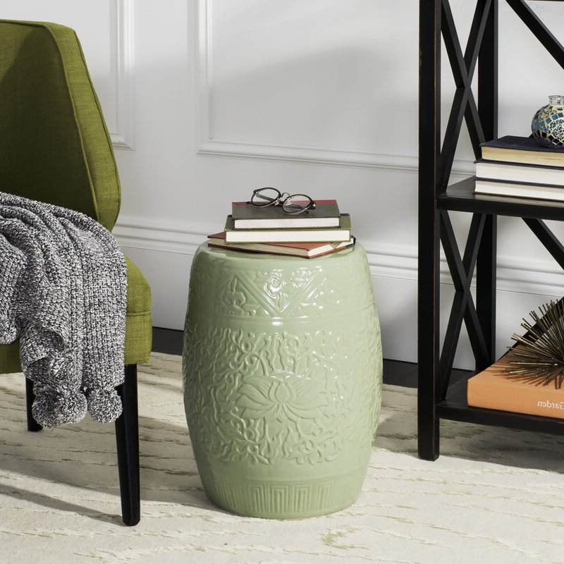 Lavin Ceramic Garden Stool Throughout Most Popular Lavin Ceramic Garden Stools (View 4 of 20)
