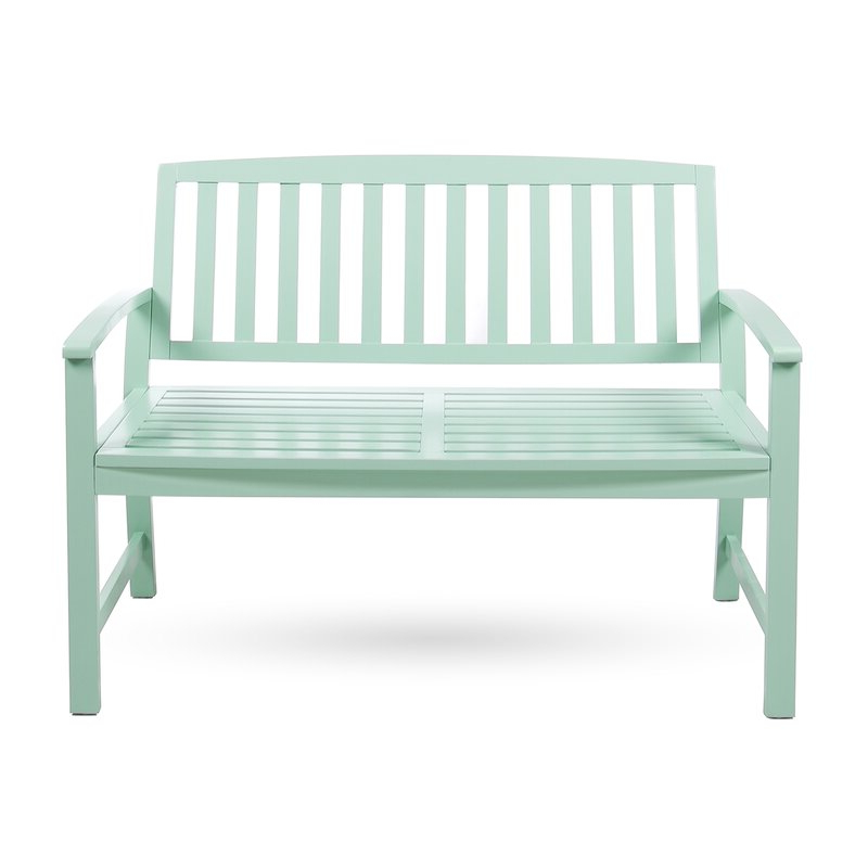 Leora Wooden Garden Bench Regarding Most Current Maliyah Wooden Garden Benches (View 18 of 20)
