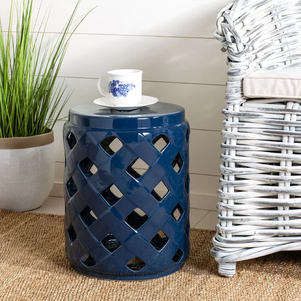 Longshore Tides Caron Ceramic Garden Stool (View 20 of 20)