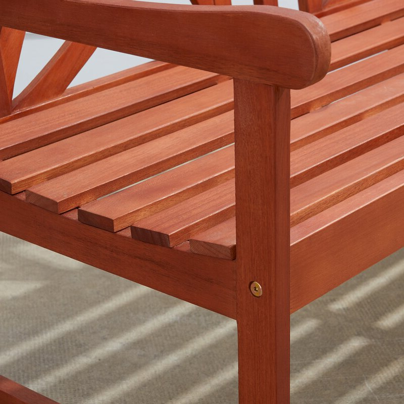 Maliyah Wooden Garden Bench In Newest Maliyah Wooden Garden Benches (View 7 of 20)