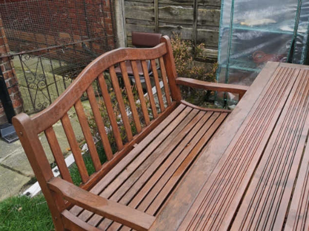 Manchester Solid Wood Garden Benches With 2020 Solid Wood Garden Furniture (View 11 of 20)