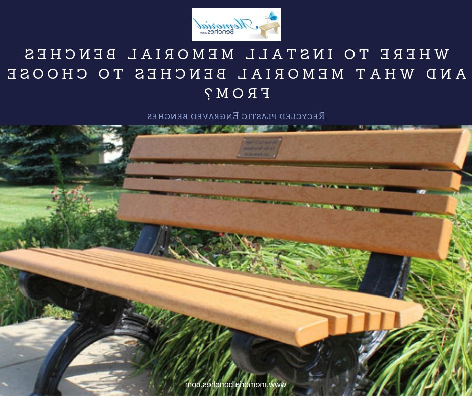 Memorialbenches Hashtag On Twitter Throughout Most Up To Date Hampstead Heath Teak Garden Benches (View 15 of 20)