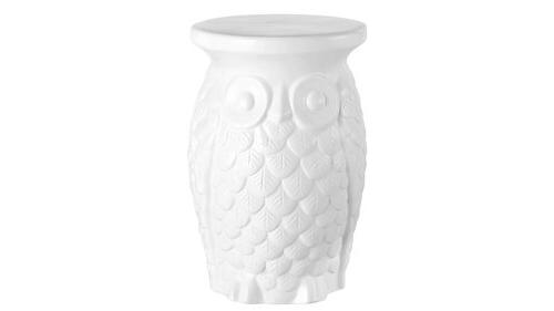 Middlet Owl Ceramic Garden Stools Regarding Recent Middlet Owl Ceramic Garden Stool (View 4 of 20)