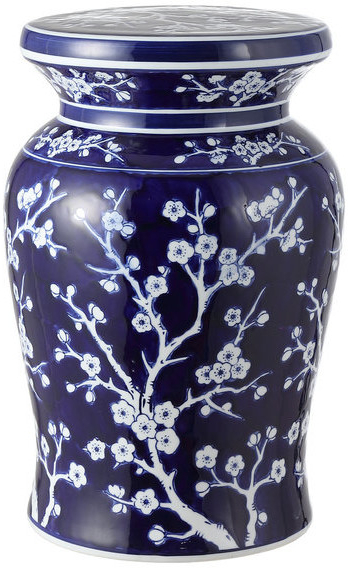 Most Popular Wiese Cherry Blossom Ceramic Garden Stools Pertaining To Cherry Blossom (View 14 of 20)
