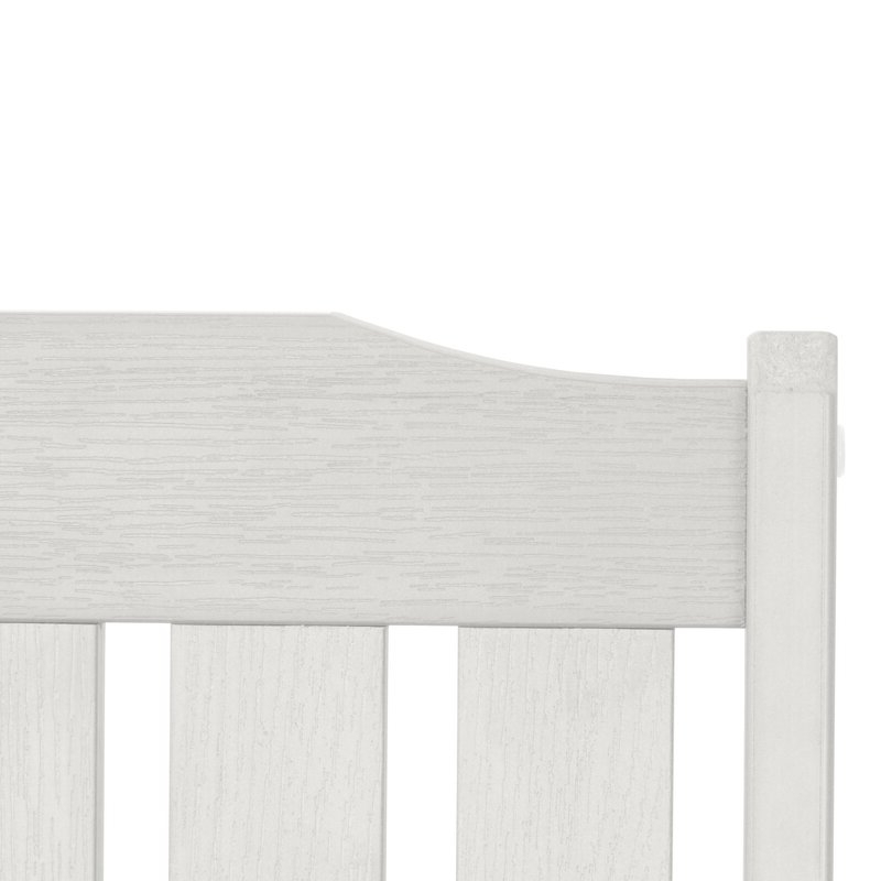 Most Recent Alfon Wood Garden Benches Pertaining To Amelia Plastic Garden Bench (View 16 of 20)