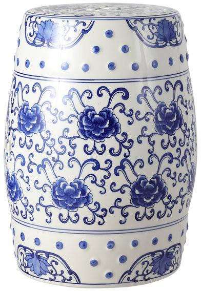 Most Recent Kujawa Ceramic Garden Stools Regarding Lotus Flower  (View 18 of 20)
