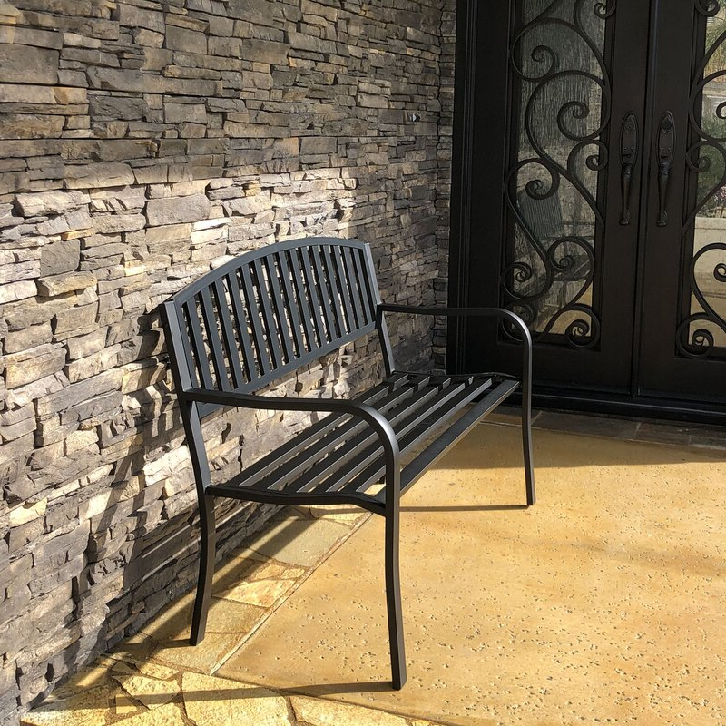 Most Recent Pettit Steel Garden Bench Throughout Pettit Steel Garden Benches (View 11 of 20)