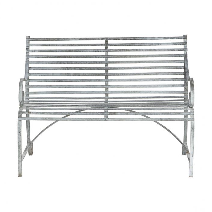 Most Recently Released 10 Easy Pieces: Romantic Benches For Two – Gardenista In Michelle Metal Garden Benches (View 10 of 20)