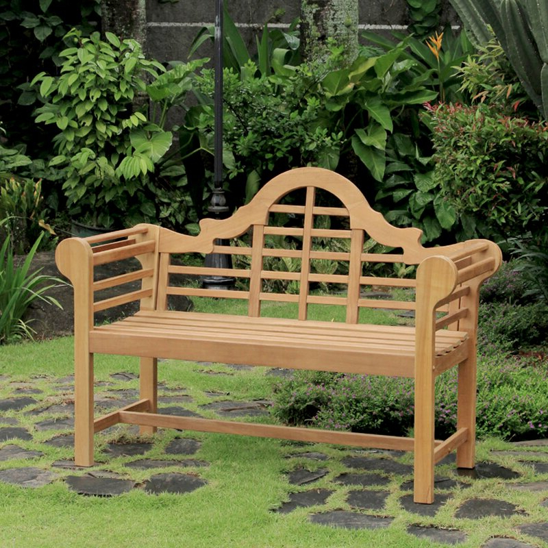 Most Recently Released Wallie Teak Garden Bench Throughout Wallie Teak Garden Benches (View 7 of 20)
