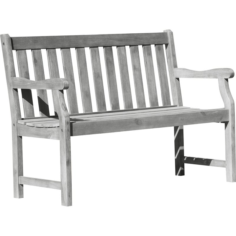 Most Up To Date Manchester Wooden Garden Benches Pertaining To Manchester Solid Wood Garden Bench (View 1 of 20)
