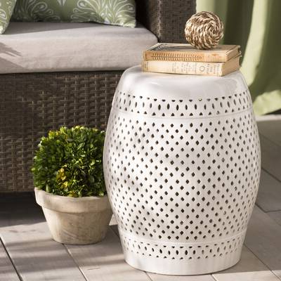 Most Up To Date Murphy Ceramic Garden Stool & Reviews (View 13 of 20)