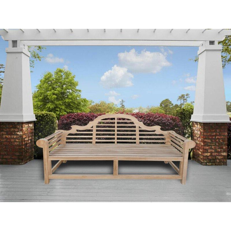 Naser Marlborough Wooden Garden Bench Within Favorite Alfon Wood Garden Benches (View 14 of 20)