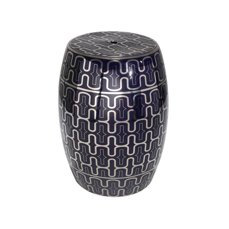 Nelliston Ceramic Garden Stool For Newest Canarsie Ceramic Garden Stools (View 14 of 20)