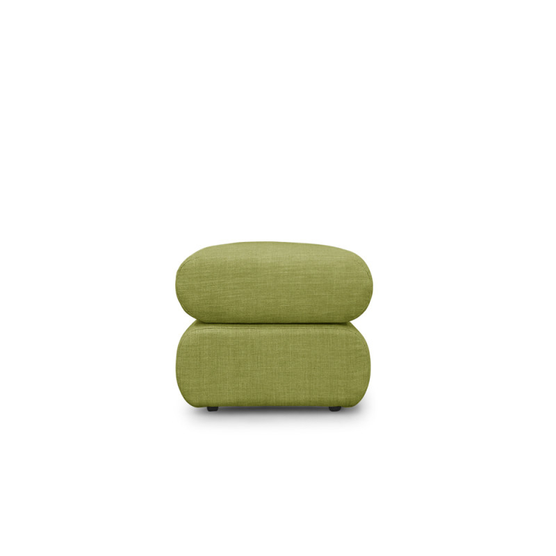 Neo Ottoman – Green With Regard To Well Known Sibbi Glider Benches (View 18 of 20)
