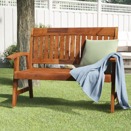 Newest Gabbert Wooden Garden Bench With Gabbert Wooden Garden Benches (View 7 of 20)