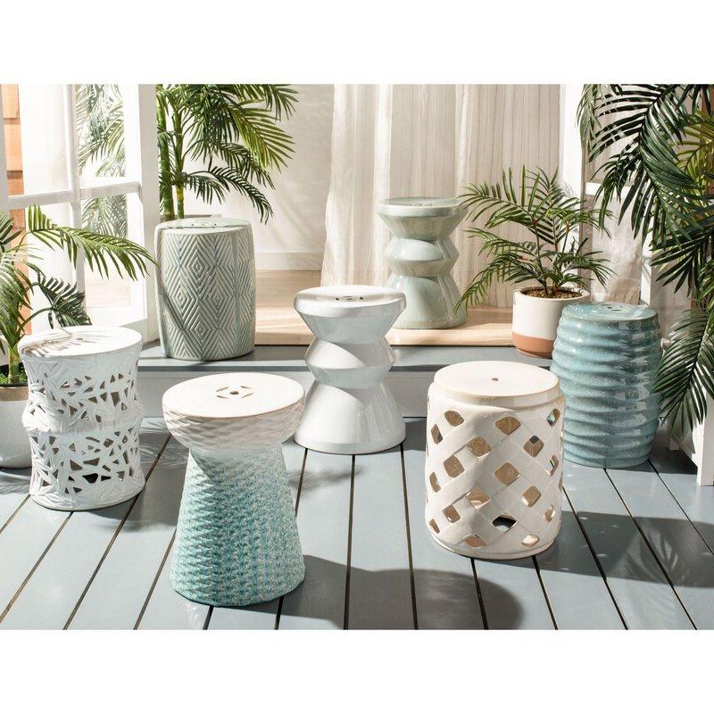 Oakside Ceramic Garden Stools Regarding Newest Oakside Ceramic Garden Stool (View 3 of 20)