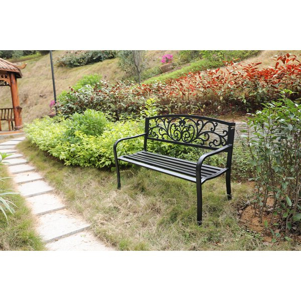 Ossu Iron Picnic Benches With Regard To Well Known Outdoor Benches (View 19 of 20)