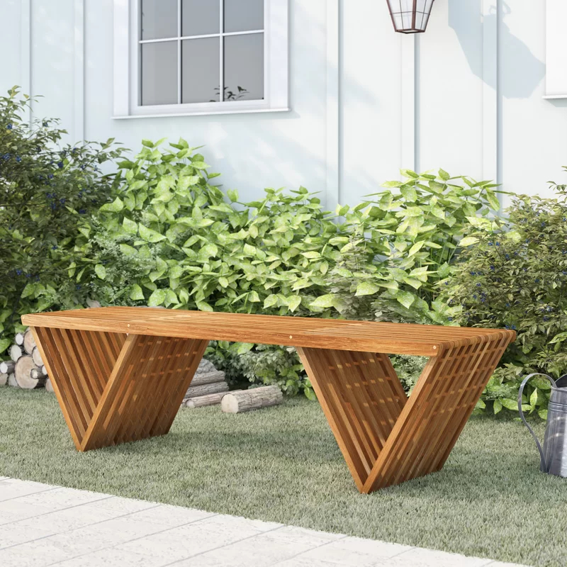 Ossu Iron Picnic Benches With Regard To Well Liked Ossu Teak Picnic Bench In (View 10 of 20)