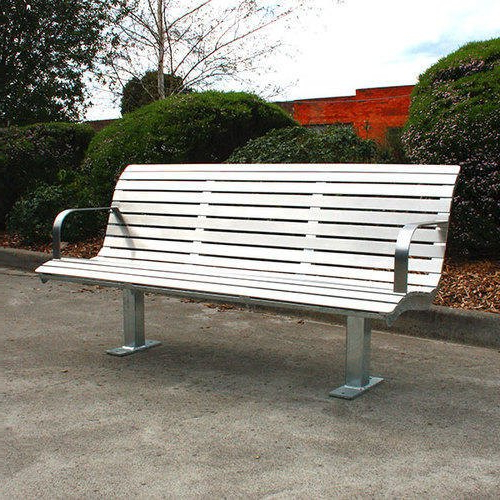 Outdoor Garden Bench Intended For Most Popular Ishan Steel Park Benches (View 13 of 20)