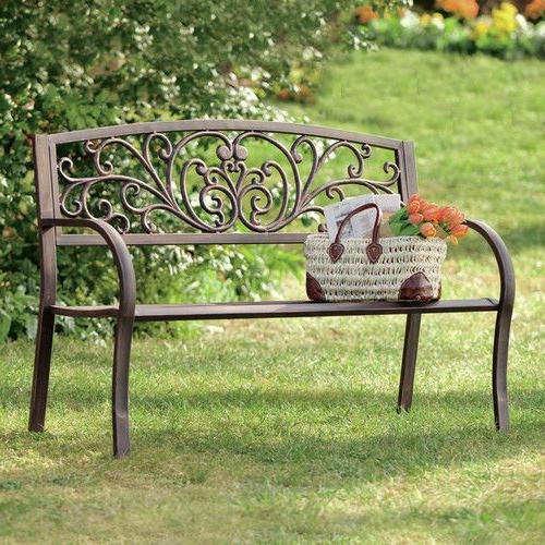 Outdoor Garden Bench (View 3 of 20)