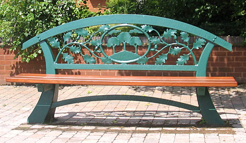 Pauls Steel Garden Benches Within Widely Used Public Seating And Park Benches (View 11 of 20)