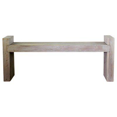 Pedrick Two Seat Wooden Picnic Bench – Vozeli With Regard To Most Recently Released Ossu Iron Picnic Benches (View 16 of 20)