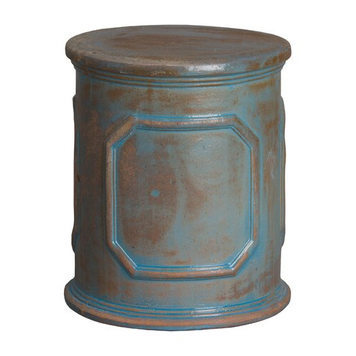Penwortham Ceramic Garden Stool In Most Up To Date Engelhardt Ceramic Garden Stools (View 7 of 20)