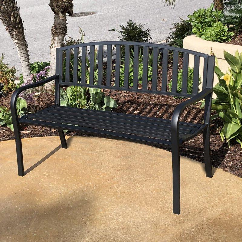 Pettit Steel Garden Bench Regarding Trendy Pettit Steel Garden Benches (View 3 of 20)